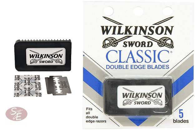 Classic Double Edge Safety Razor Blades (German) - 5 Pack