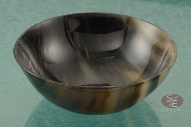 Shave Bowl - Genuine Ox Horn